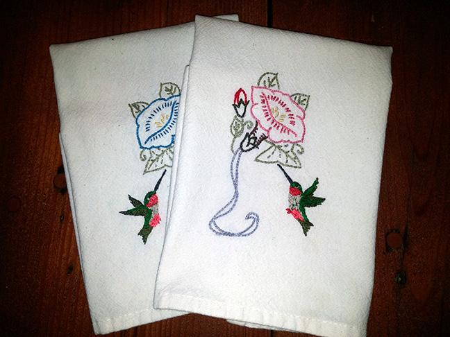 hummingbird-towels